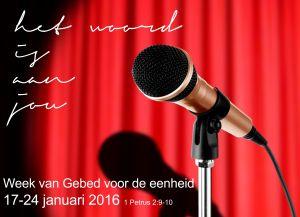 Bijzondere wending aan week van gebed in Steenwijk